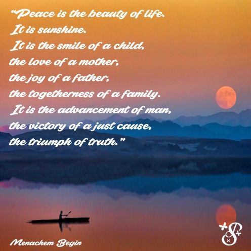 Peace-is-the-beauty-of-life